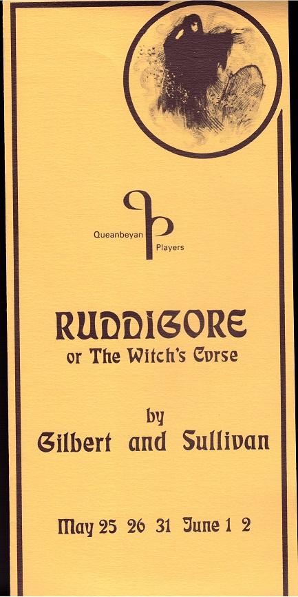 1979 Ruddigore