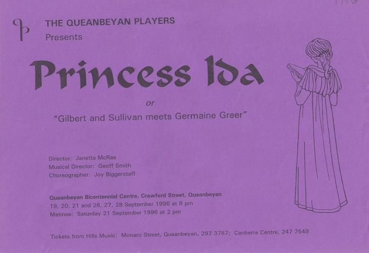1996 Princess Ida