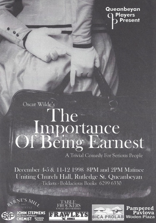 1998 The Importance of Being Earnest