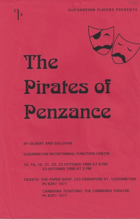 1999 The Pirates of Penzance
